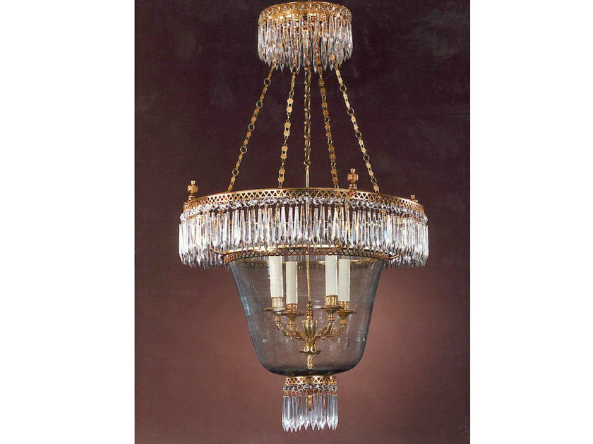 Crystal chandelier 30994 | Chandelier by Tisserant