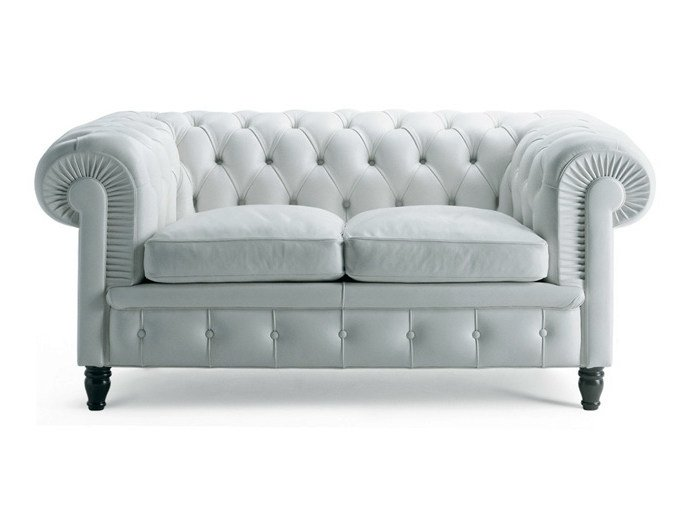 Tufted 2 seater sofa CHESTER   2 seater sofa by Poltrona Frau