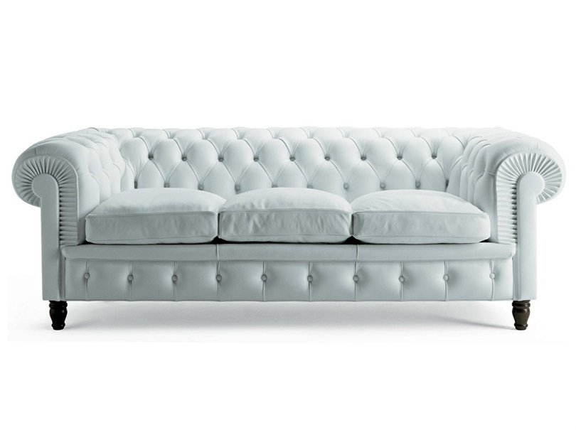 Chester 3 Seater Sofa By Poltrona Frau Design Renzo Frau