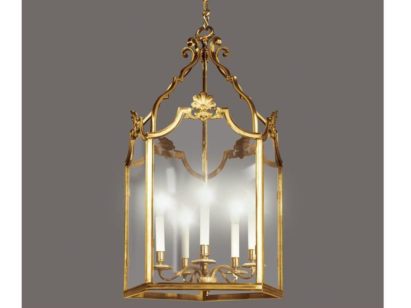 Bronze chandelier 34451 | Chandelier by Tisserant
