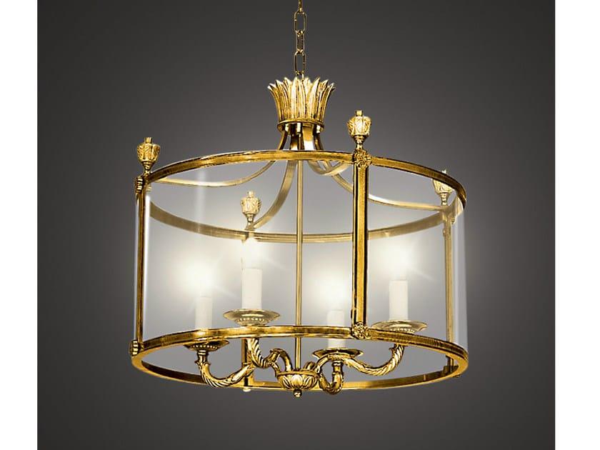 Bronze chandelier 34514 | Chandelier by Tisserant