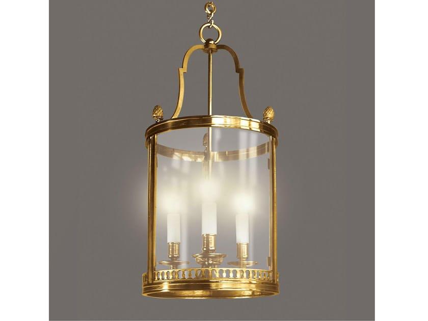 Bronze chandelier 34628 | Chandelier by Tisserant