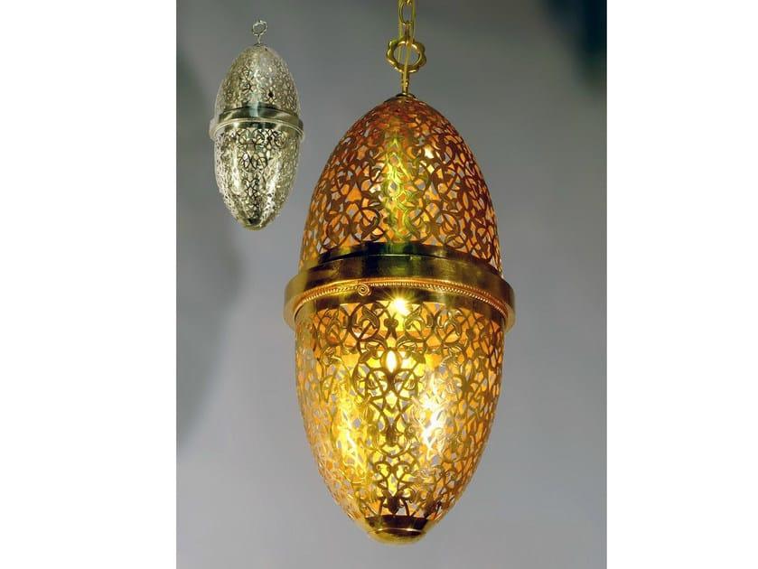 Brass chandelier 31500 | Chandelier by Tisserant