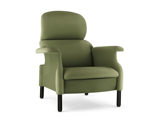 Armchair with armrests SANLUCA | Armchair by Poltrona Frau