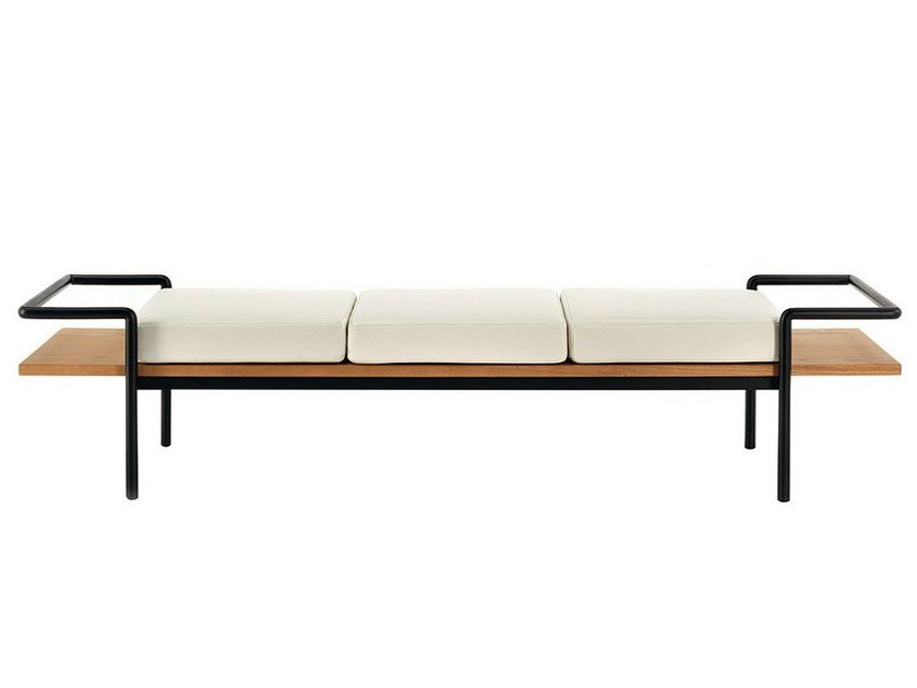 Ash bench T904 by Poltrona Frau