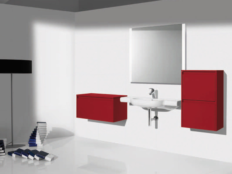Wall-mounted ceramic washbasin NEW MERIDIAN | Washbasin by ROCA SANITARIO