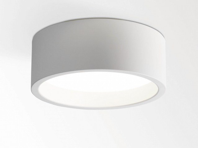 Fluorescent plexiglass ceiling lamp KODO 226 by Delta Light