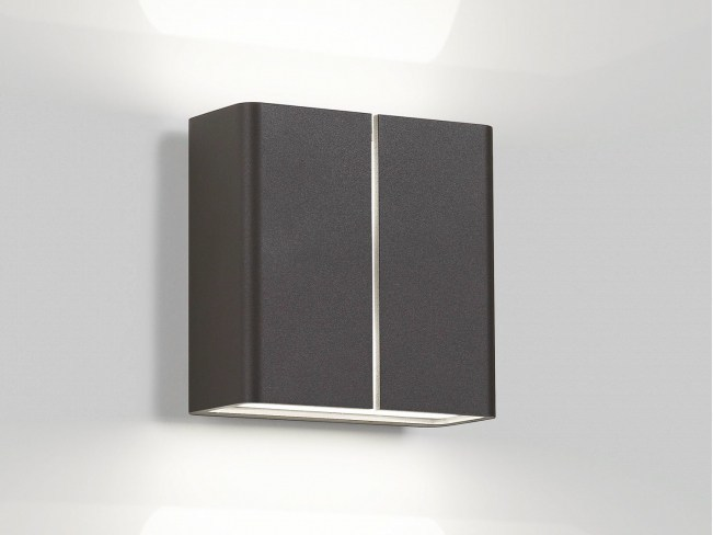 LED direct-indirect light wall lamp VISA X LED WW by Delta Light
