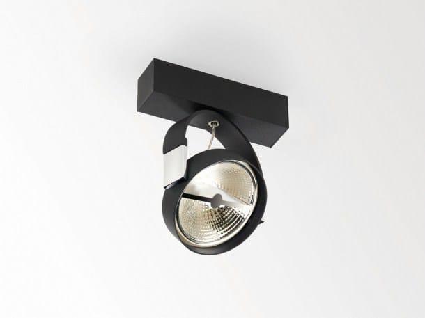 LED ceiling spotlight RAND XL 111 T50 by Delta Light