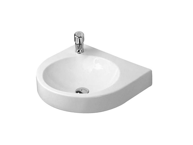 Round wall-mounted ceramic washbasin ARCHITEC | Round washbasin by Duravit