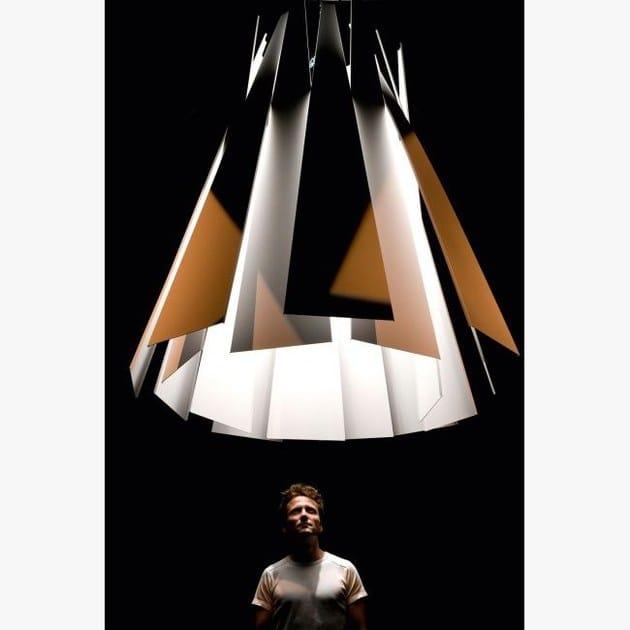 Metronome Sospensione In Light A Lampada Alluminio Led Delta Xxl zjLUpSVqMG