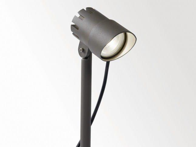 LED metal bollard light FOX P 73020 by Delta Light