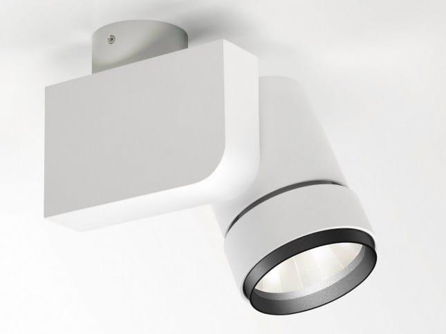 Adjustable ceiling spotlight BOOSTER HIC-35 SP18 by Delta Light