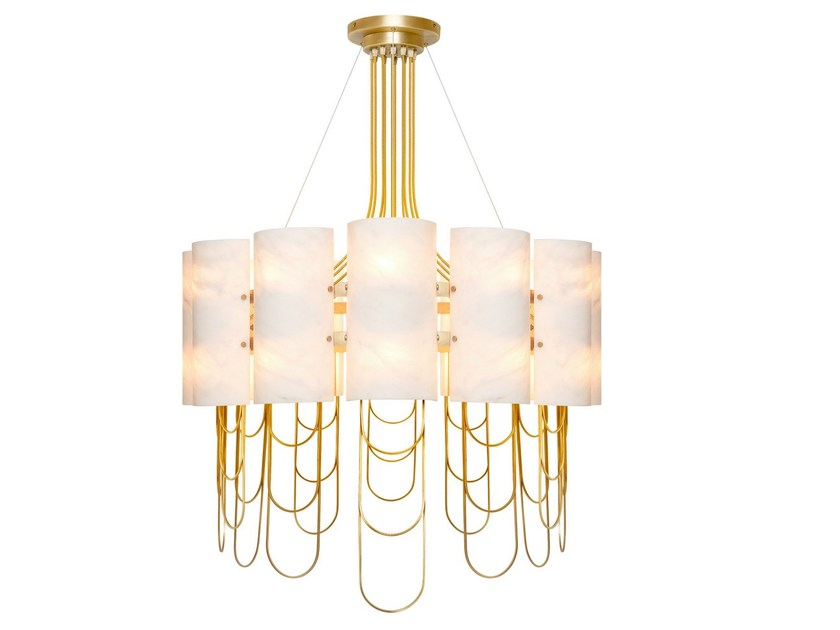 Indirect light chandelier NIAGARA | Chandelier by Ginger & Jagger