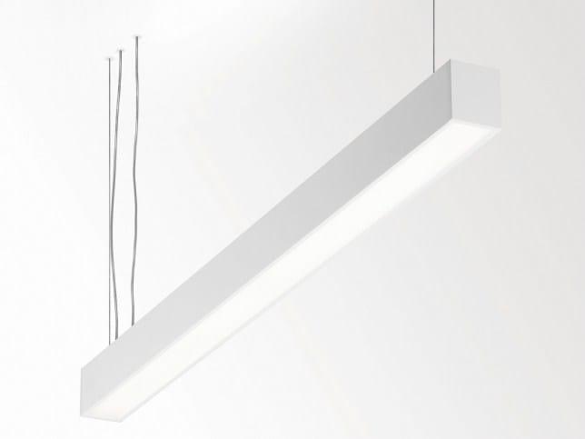 Lampada a sospensione a LED in alluminio B-LINER 65 P630 EVG DIM 1 by Delta Light