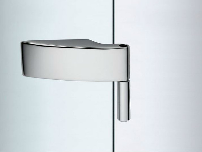 Glass door hinge V-401 | Hinge by Metalglas Bonomi
