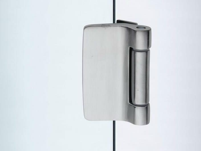 Glass door hinge V-509 | Hinge by Metalglas Bonomi