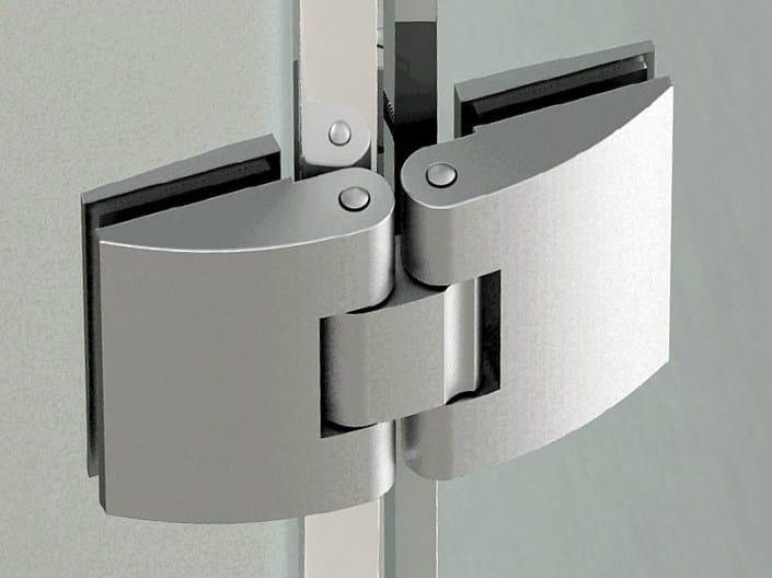 Glass door hinge B-202 | Hinge by Metalglas Bonomi