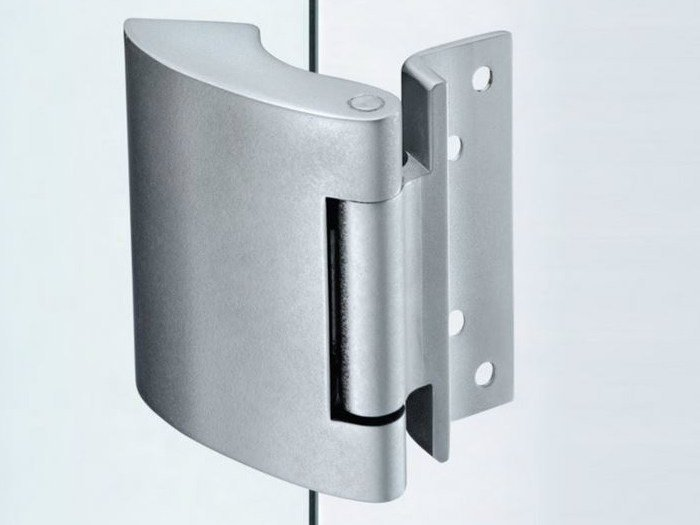 Glass door hinge V-507 | Hinge by Metalglas Bonomi