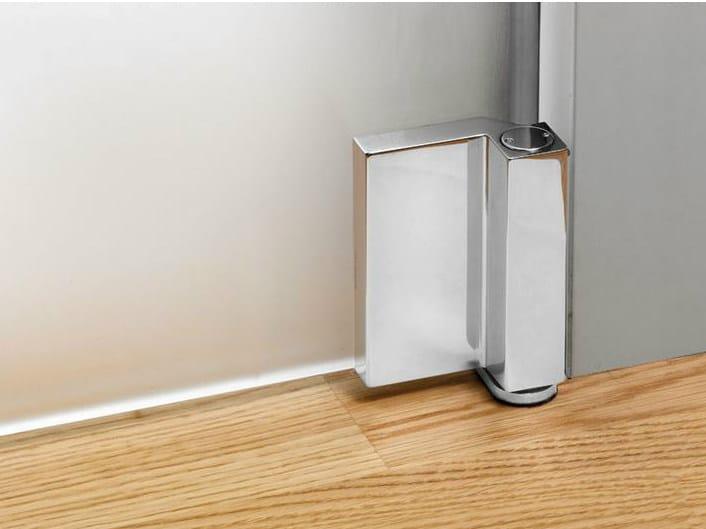 Glass door hinge V-707 | Hinge by Metalglas Bonomi