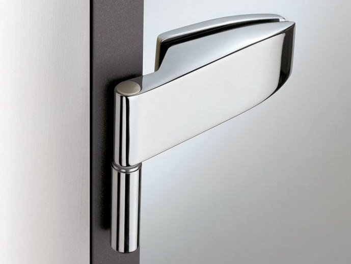 Glass door hinge V-102   Hinge by Metalglas Bonomi