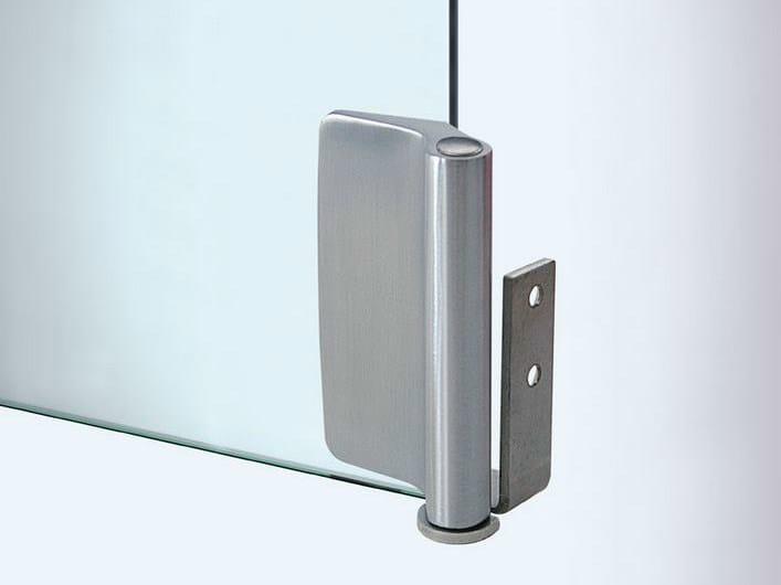 Glass door hinge V-107 | Hinge by Metalglas Bonomi