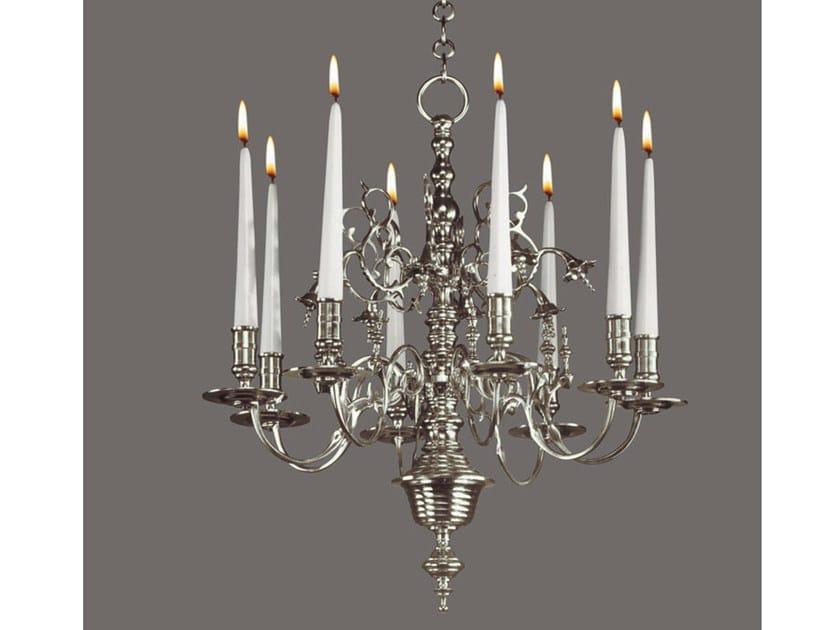 Bronze chandelier 13900 | Chandelier by Tisserant