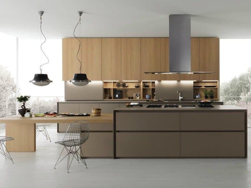 Spruce kitchen with island AXIS 012 | Kitchen with island by Zampieri Cucine