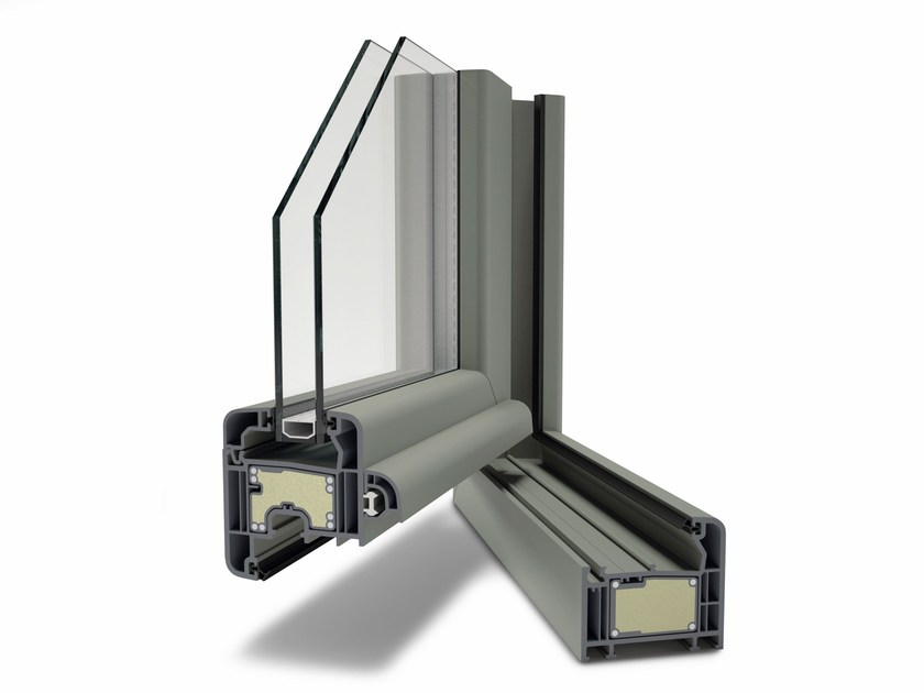 PVC window Zendow#neo by DECEUNINCK ITALIA