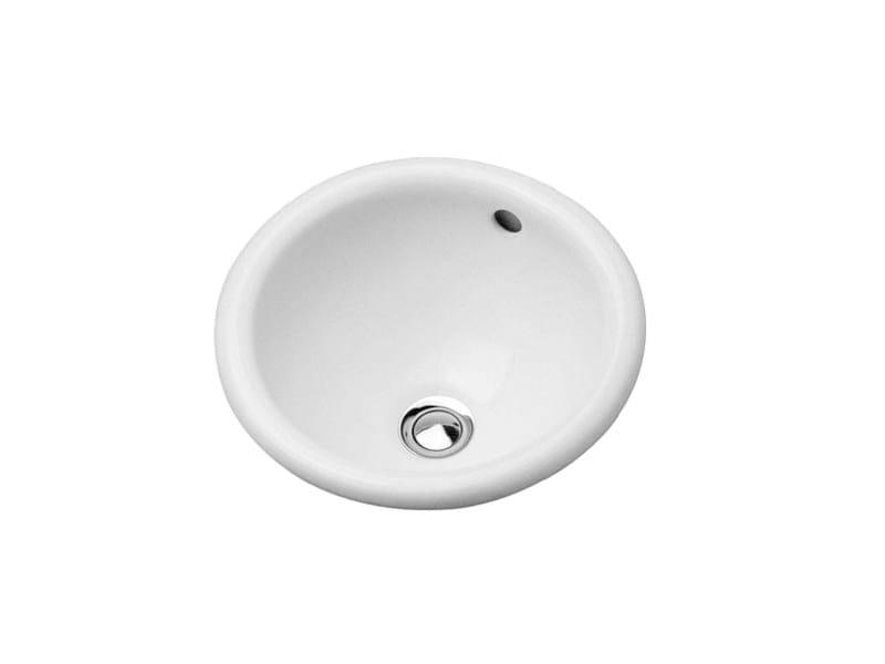 Inset ceramic washbasin ARCHITEC | Washbasin by Duravit