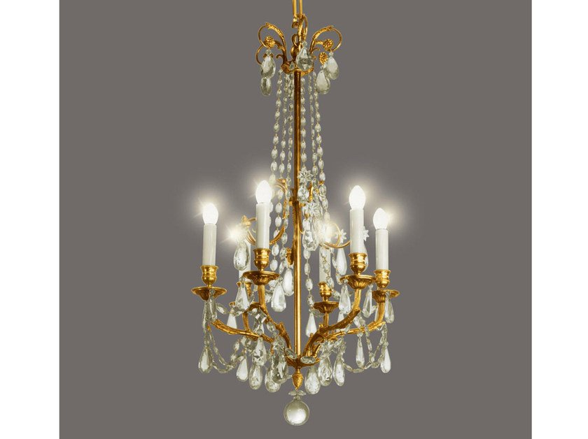 Crystal chandelier 14399 | Chandelier by Tisserant