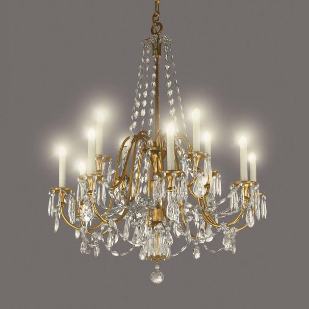 Crystal chandelier 14472 | Chandelier by Tisserant