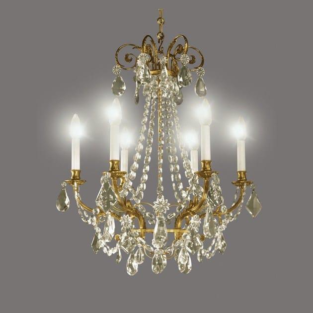 Crystal chandelier 14443 | Chandelier by Tisserant