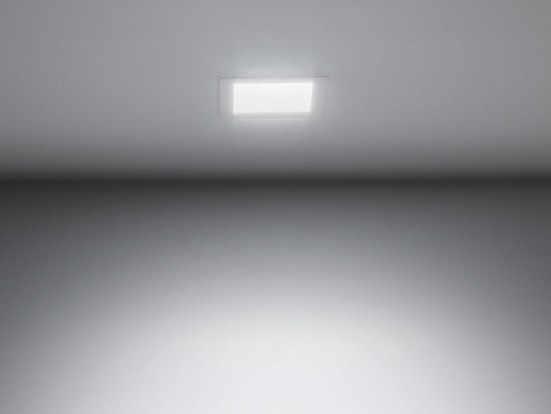 LED painted metal spotlight for false ceiling DOWNLIGHT 120Q by Lombardo