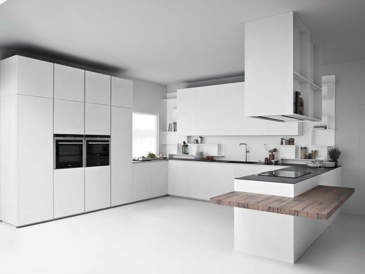 LINE K | Kitchen with peninsula By Zampieri Cucine design Stefano ...