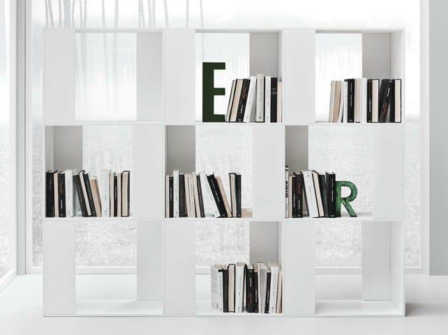 LINE K | Bookcase By Zampieri Cucine design Stefano Cavazzana