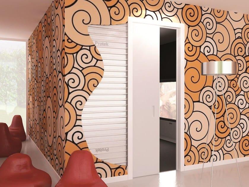 Counter frame for single sliding door SINGLE by PROTEK®