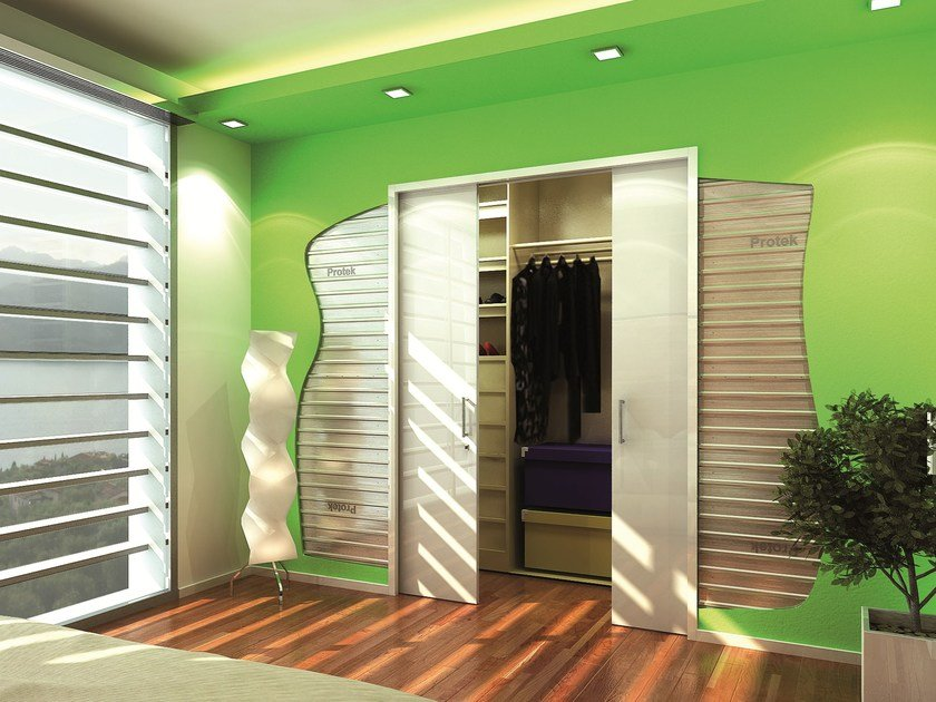 Counter frame for double sliding doors DOUBLE by PROTEK®