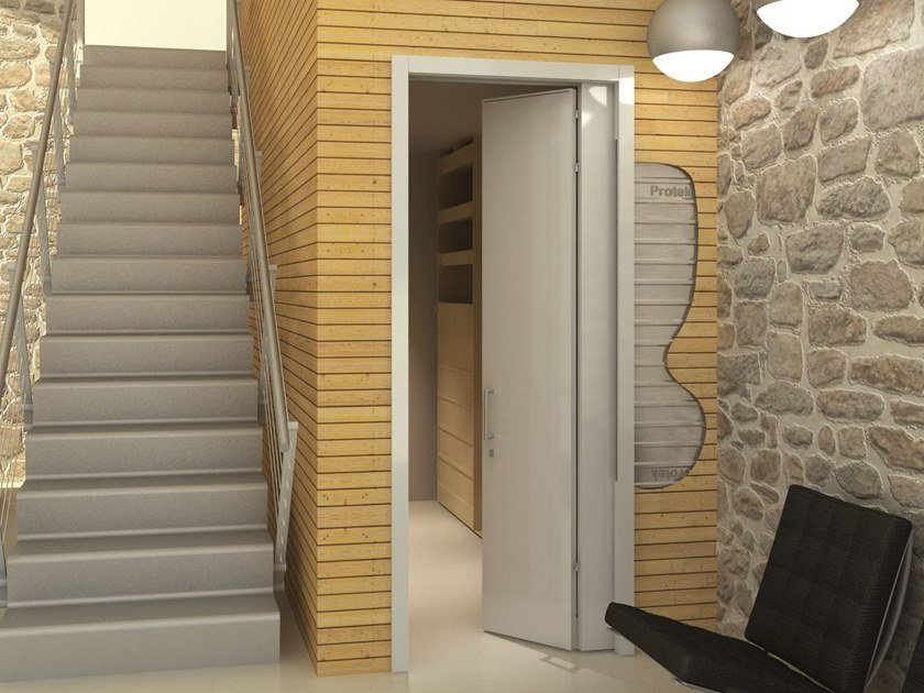 Counter frame for single sliding door SINGLE COMPACT FOLDING by PROTEK®