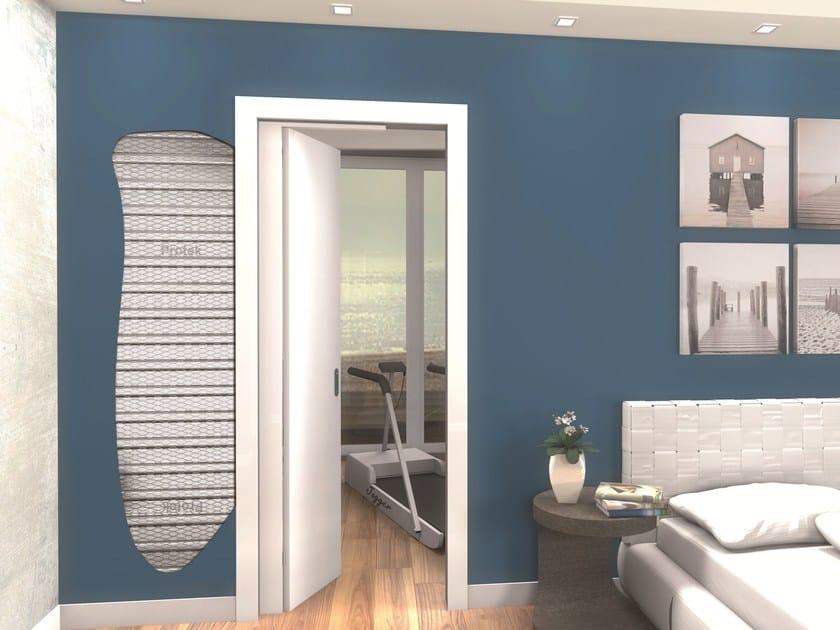 Counter frame for single sliding door SINGLE HALF COMPACT by PROTEK®