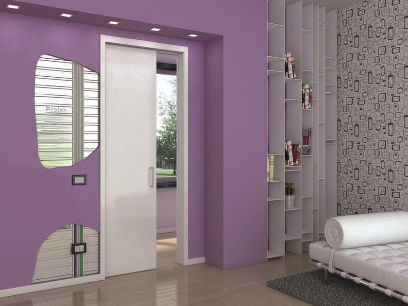 Counter frame for single sliding door MAGIC BOX® ELEKTRO SINGLE by PROTEK®