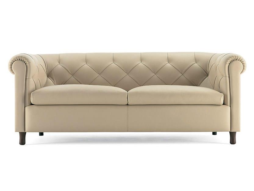 Tufted Sofa Arcadia By Poltrona Frau