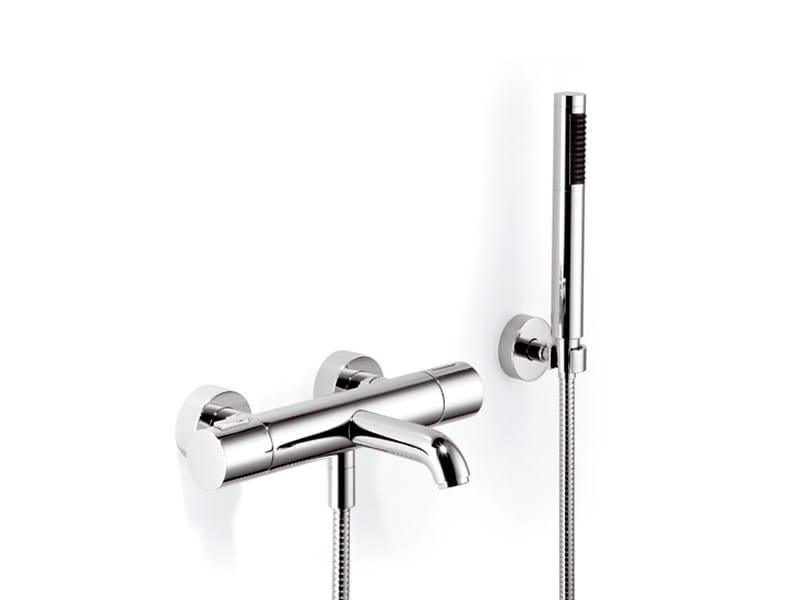 Wall-mounted thermostatic bathtub mixer TARA.LOGIC | Thermostatic bathtub mixer by Dornbracht