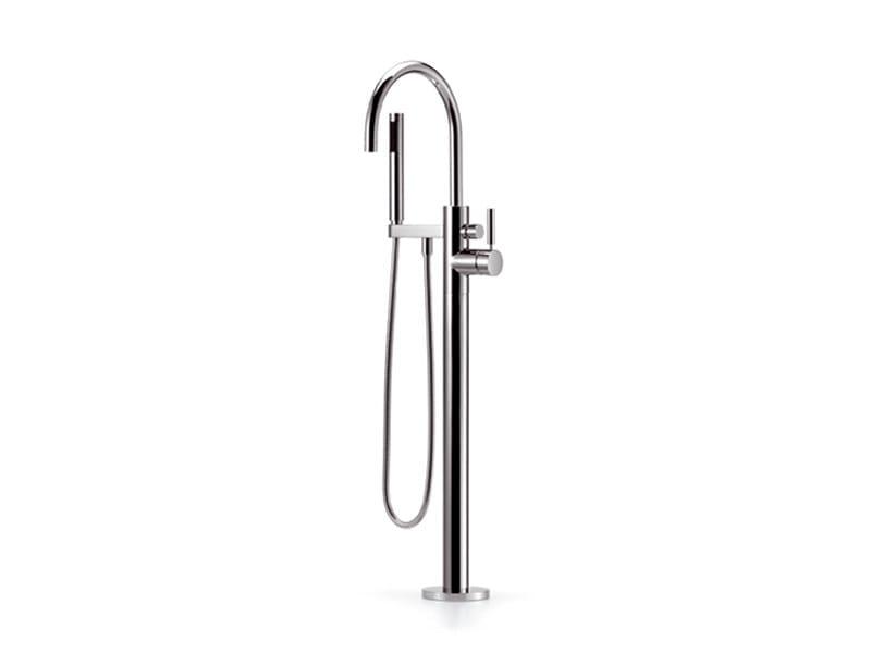 Floor standing single handle bathtub mixer TARA.LOGIC | Floor standing bathtub mixer by Dornbracht