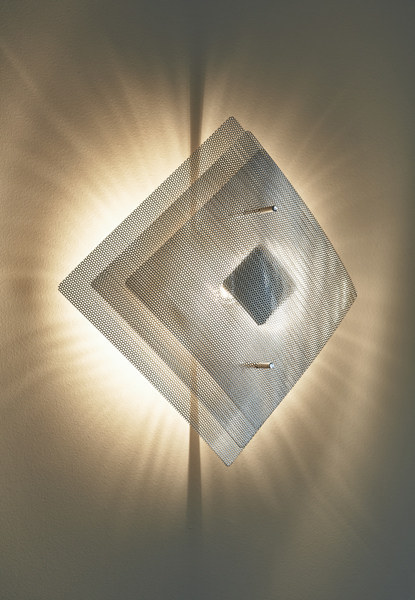 Halogen steel wall light ECLIPSE N°8A | Wall lamp by Thierry Vidé design