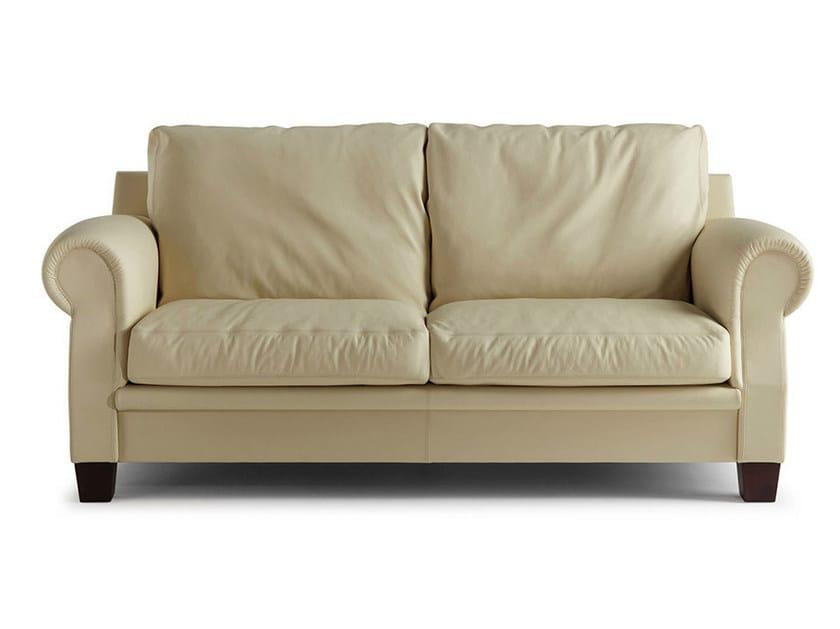 2 seater leather sofa AUSTEN | 2 seater sofa by Poltrona Frau
