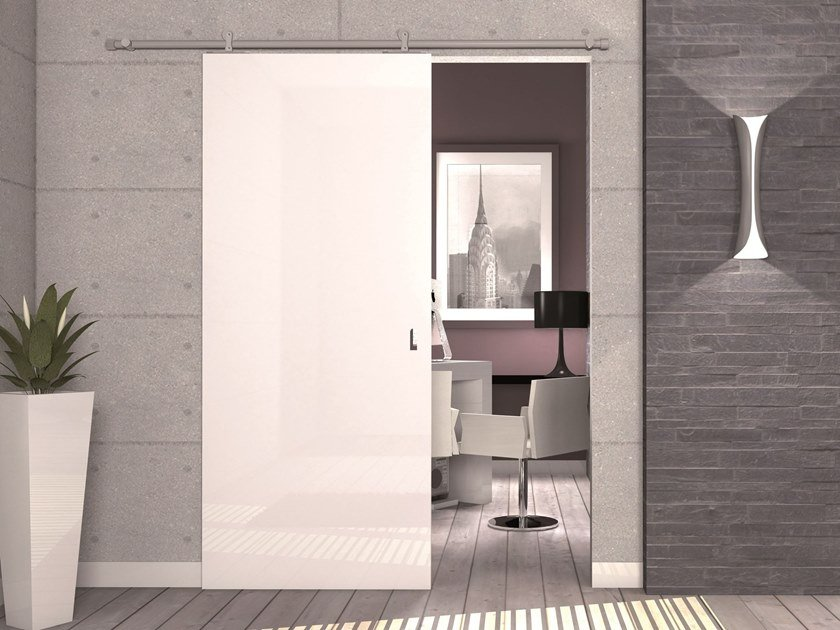 Controtelaio per porta scorrevole esterno muro kit laura by protek