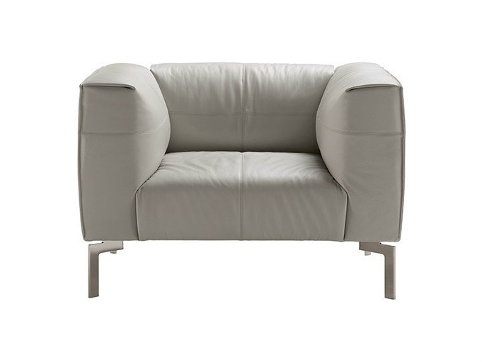 Club armchair BOSFORO | Armchair by Poltrona Frau