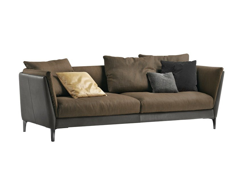 2 seater leather sofa BRETAGNE | 2 seater sofa by Poltrona Frau