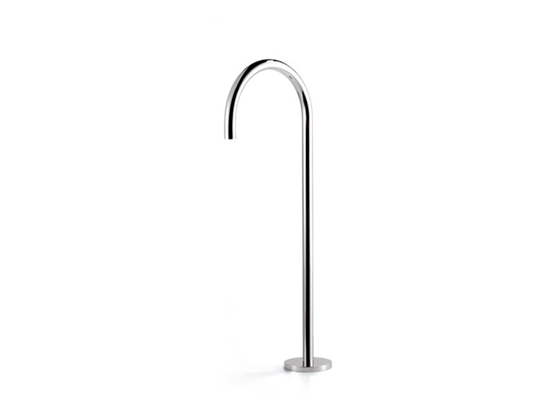 Floor standing bathtub spout TARA.LOGIC | Bathtub spout by Dornbracht